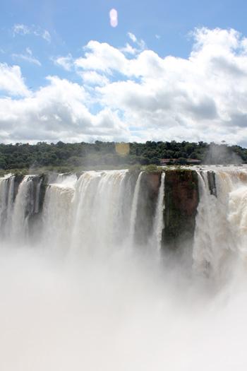Impressive Iguazu Falls